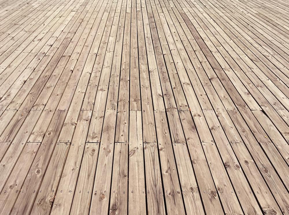 Φωτό empty wooden floor background P7NTACJ