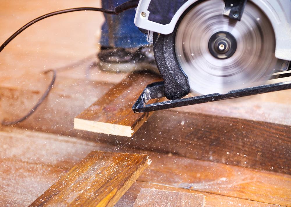 Φωτό grinding machine left on floor PDTNAFE