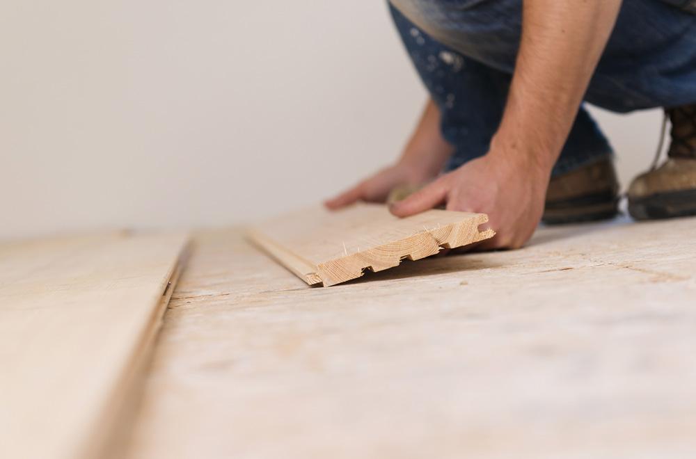 Φωτό wooden flooring PTETXET